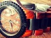 nuovo orologio interamente legno
