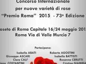 ROMA: Rosa…in Rosa PREMIO ROSE'S 2015 Roseto Roma Capitale, maggio
