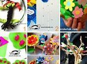 Lavoretti creativi bambini materiali riciclati