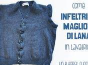 Come infeltrire maglioni lana lavatrice