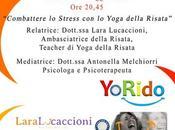 Sportello Stress, combattere stress Yoga della Risata