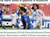 """Presidente della Lega Nazionale Calcio Femminile, Felice Belloli, """"quelle quattro lesbiche"""" delle calciatrici"""