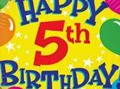 Buon compleanno Blog: anni