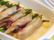 Involtini pesce spada farciti agli asparagi