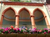 foto della settimana: balconi fioriti Santarcangelo Romagna