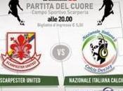 Nazionale Italiana Calcio Deejay: Partita Cuore maggio Scarperia (FI)