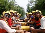 slow rafting Ticino