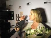 L'attrice hollywodiana Caroline Goodall premiata RIFF ELEVATOR regista messinese Massimo Coglitore