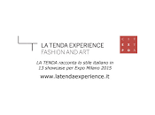 Cividini Expo 2015: Celebrano Tenda Experience Fashion Art""