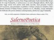 """SalernoPoetica presentazione """"L'adolescenza notte"""""""