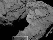 Rocce equilibriste sulla cometa