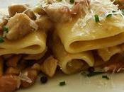 Paccheri ragù bianco maiale fagioli borlotti