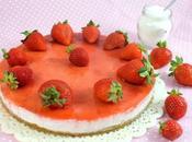 Torta mousse fragole (senza cottura)