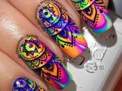 Water Marble Manicure With Born Pretty BP-L014