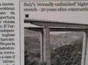stampa inglese, Salerno-Reggio Calabria