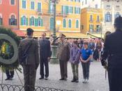 "Verona/ Salva d'Onore Piazza Bra. Commemorazione Centenario della ""Grande Guerra"""