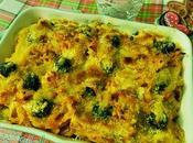 Tagliatelline gratinate forno salame Varzi gratin baked with salami