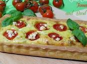 Torta Salata Formaggio Capra Pomodori Basilico