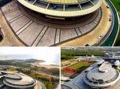 Edificio fatto come l'astronave Enterprise