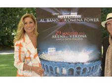 Albano Romina Power all'Arena Verona concerto-spettacolo unica data italiana tour all'estero.