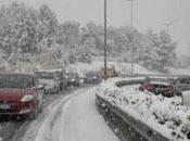 Meteo: neve sulle coste rischio trombe d'aria