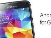Samsung Galaxy previsto nuovo aggiornamento Lollipop