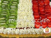 Tutorial dolcidee.it: torta tricolore crema chantilly frutta celebrare Festa della Repubblica