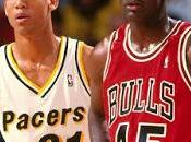 Trash Talking Reggi Miller Michael Jordan