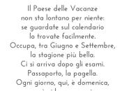 paese delle vacanze, poesia Gianni Rodari