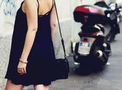 Blue dress, heels