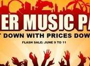Summer Music Party, sconto fino molti smartphone accessori