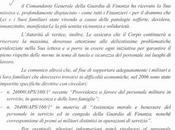 Lorusso (Finanzieri Democratici): Comando generale delle Fiamme Gialle nessuna iniziativa concreta tutela vittime dell'amianto divisa