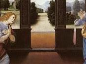 Schema punto croce; L'Annunciazione Lorenzo Credi