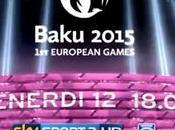 Giochi Europei Baku 2015, Sport canale dedicato oltre gare live