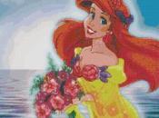 Schema punto croce: Principessa Disney Ariel_8