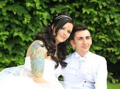 moda tattoo: matrimonio stile Chanel