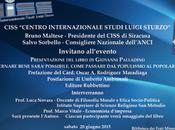 """Presentazione libro Giovanni Palladino """"Governare bene sarà possibile. Come passare populismo popolarismo"""" Siracusa"""
