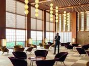 Bottega veneta rende omaggio all'architettonica modernista giapponese: hotel okura tokyo