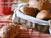 Panini multicereali cioccolato nocciole Multigrain chocolate hazelnuts buns