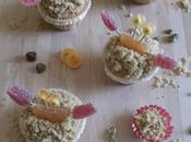 Coffee crab cupcakes