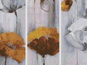 Schema punto croce: Trittico_3 (con fiori)