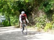 road bike climbing Eastern hills (21/6, 2015)