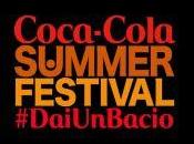 Coca-Cola SUMMER FESTIVAL #daiunbacio: artisti italiani internazionali confermati