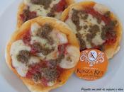 Pizzette patè capperi olive