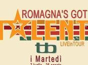 Romagna`s Talent, tutti martedi' luglio fino agosto 2015, live Tequila Blues Mauro Mare (FC).