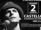 NICCOLÒ AGLIARDI HILLS concerto DESENZANO GARDA (BS)