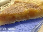 Crostata frangipane nespole