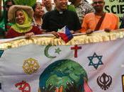 Marcia clima Papa festeggiare l'appello risposta tempestiva cambiamento climatico