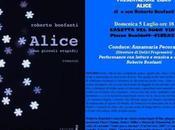 FIRENZE: ALICE Roberto Bonfanti Presentazione libro