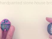 sassolino spilla casetta handpainted stone house brooch